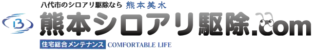 八代のシロアリ駆除なら株式会社熊本美水。熊本シロアリ駆除.com
