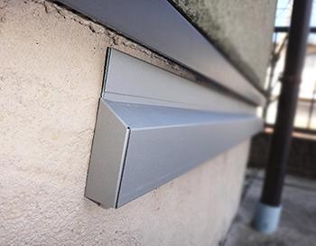 SCキーパーはガルバリウム鋼板で出来ています。