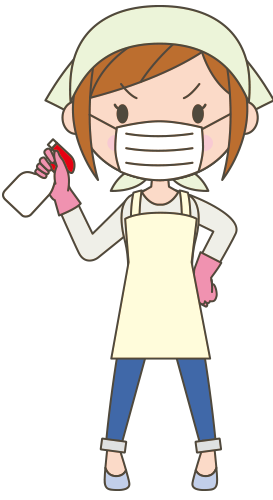 ネズミのフンを掃除するときはマスク手袋必須で!